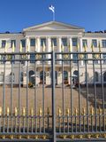дворец helsinki президентский стоковое фото