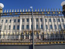 дворец helsinki президентский стоковое фото rf