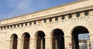 Дворец Hofburg имперский, вена, Австрия Фото принятое в 2016 Стоковые Фотографии RF