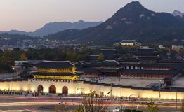 Дворец i Gyeongbokgung стоковые фото