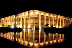 Дворец Itamaraty Стоковое Изображение