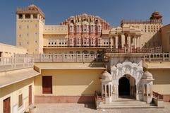 дворец jaipur hawa mahal Стоковая Фотография