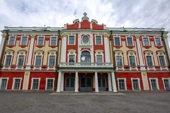 Дворец Kadriorg около Таллина, Эстонии стоковое фото
