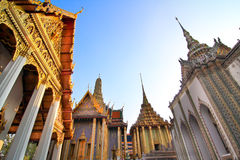 Дворец kaew phra Wat грандиозный Стоковое Фото