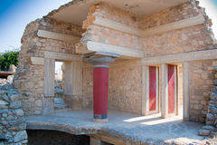 дворец knossos Стоковое фото RF