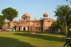 Дворец Lalgarh, Bikaner, Раджастхан, Индия стоковая фотография