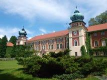 Дворец Lancut, Польши стоковая фотография rf