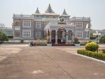 Дворец Lao президентский Лаос vientiane стоковое изображение rf