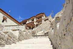Дворец Leh в Ladakh Стоковая Фотография RF