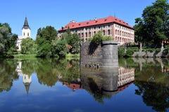 Дворец Libochovice стоковые изображения rf