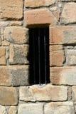 Дворец Linlithgow, окно Стоковые Фотографии RF