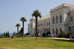 Дворец Livadia в Крыме Стоковое Фото