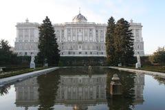 дворец madrid королевский стоковая фотография