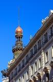 дворец madrid la equitativa старый Стоковое Фото