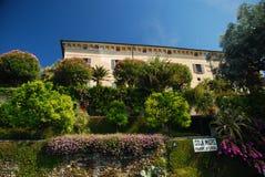 дворец maggiore madre озера isola borromeo Стоковое Изображение RF