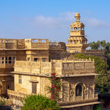 Дворец Mandir в Jaisalmer Стоковое фото RF