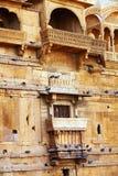 дворец mandir jaisalmer Индии Стоковая Фотография