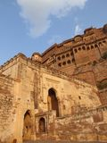 дворец meherangarh jodphur Индии форта Стоковое фото RF