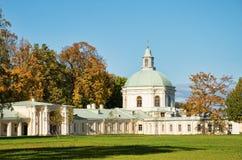 дворец menshikov lomonoisov церков осени Стоковые Фото