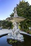 Дворец Monserrate в фонтане Sintra тритона Стоковые Изображения