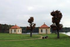 Дворец Moritzburg около Дрездена Стоковые Фотографии RF