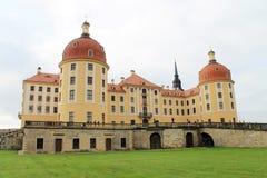 Дворец Moritzburg около Дрездена Стоковое Изображение RF