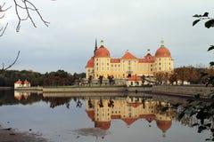 Дворец Moritzburg около Дрездена Стоковые Фото