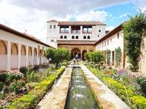 Дворец Nasrid Стоковое Изображение