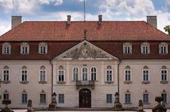 дворец nieborow королевский Стоковое Изображение