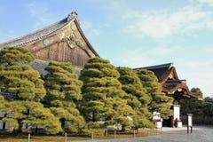 Дворец Ninomaru замка Nijo Стоковое Изображение