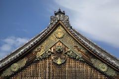 Дворец Ninomaru на замке Nijo в Киото Стоковые Изображения RF