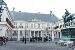 Дворец Noordeinde в Гааге в Нидерландах Стоковое фото RF