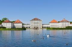 дворец nymphenburg Германии munich Стоковое Изображение RF