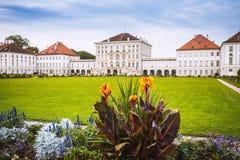 Дворец Nymphenburg и Бавария Германия Мюнхена парка Стоковое фото RF
