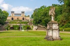 Дворец Orangery в Потсдаме Стоковые Фотографии RF