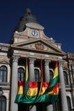 дворец paz la правительства Боливии Стоковые Фото