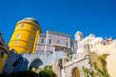 Дворец Pena в Sintra - Португалии стоковая фотография rf