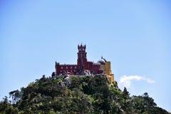 Дворец Pena в Sintra Стоковые Изображения