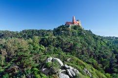 Дворец Pena места всемирного наследия ЮНЕСКО стоковые фотографии rf