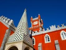 Дворец Pena, sintra, Португалия Стоковые Фото