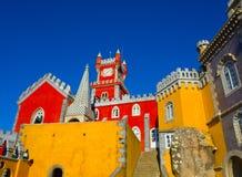Дворец Pena, sintra, Португалия Стоковая Фотография RF