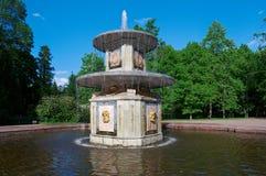 Дворец Peterhof Римские фонтаны Стоковое Фото
