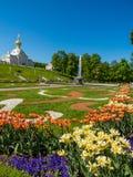 Дворец Peterhof Стоковая Фотография