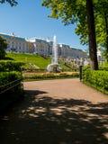 Дворец Peterhof Стоковые Фотографии RF