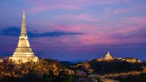 Дворец Phetchaburi Таиланд Khao Wang Стоковые Фотографии RF