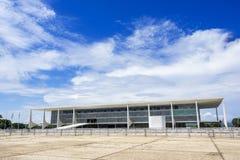 Дворец Planalto в Brasilia, Бразилии стоковое изображение rf