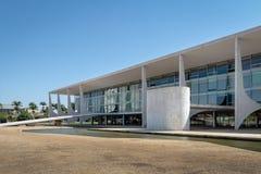Дворец Planalto и Parlatorium - Brasilia, Distrito федеральное, Бразилия стоковая фотография rf