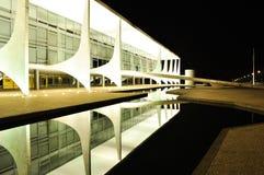 Дворец Planalto стоковые изображения