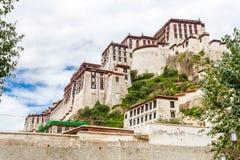 Дворец Potala, Лхаса, Китай Тибет Стоковая Фотография