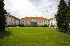 Дворец Potocki, Варшава, Польша Стоковое Изображение